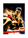 Muhammad Ali: Sting Like a Bee Art by Joe Petruccio