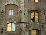 Reflections in the Windows of a Building in Siena Photographic Print by Annie Griffiths Belt