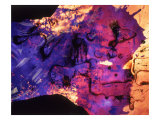 Abstract Image in Blue and Magenta Giclee Print by Daniel Root