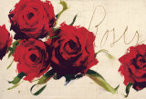 Roses Print by Antonio Massa