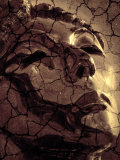 Cracked Effect on Female Statue Photographic Print by Abdul Kadir Audah