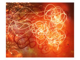 Abstract Image in Red and Yellow Giclee Print by Daniel Root