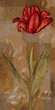 Red Impression I Poster by Erin Lange