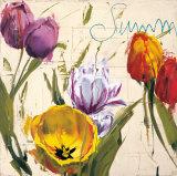 Summer Tulips Posters by Antonio Massa