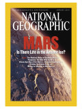 Cover of the January, 2004 National Geographic Magazine Photographic Print by Kees Veenenbos