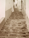 Steps Leading Up to an Alley Photographic Print by Rob Lang