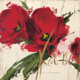 Antonio Massa - Fancy Tulips - Reprodüksiyon