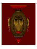 Mask of Dignity Giclee Print by Images Monsoon