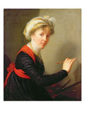 Self Portrait, 1800 Giclee Print by Elisabeth Louise Vigee-LeBrun