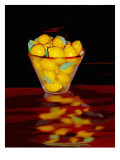 Bowl of Lemons Giclee Print by Rich LaPenna