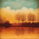 Reflections of Autumn II Print by Neil Thomas