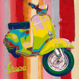 Pop Vespa I Print by Valerio Salvini