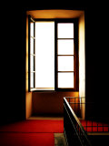 Open Window in Darkened Room Photographic Print by Claire Morgan