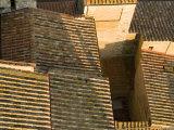 Terracotta Rooftops Above a Maze of Small Streets Fotodruck von Annie Griffiths Belt