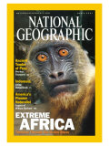 Cover of the March, 2001 National Geographic Magazine Photographic Print by Michael Nichols