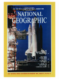 Cover of the March, 1981 Issue of National Geographic Magazine Photographic Print by Jon T. Schneeberger
