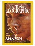 Cover of the August, 2003 Issue of National Geographic Magazine Photographic Print by Nicolas Reynard