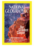 Cover of the January, 2006 Issue of National Geographic Magazine Photographic Print by John Burcham