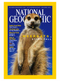 Cover of the September, 2002 Issue of National Geographic Magazine Photographic Print by Mattias Klum
