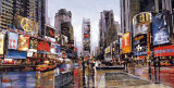 Evening in Times Square Art by Matthew Daniels