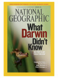 Cover of the February, 2009 Issue of National Geographic Magazine Photographic Print by Mattias Klum