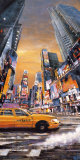 Times Square Perspective I Art by Matthew Daniels