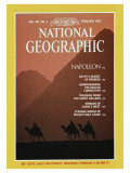Cover of the February, 1982 Issue of National Geographic Magazine Photographic Print by Gordon Gahan
