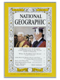 Cover of the May, 1960 Issue of National Geographic Magazine Photographic Print by Dr. Gilbert H. Grosvenor