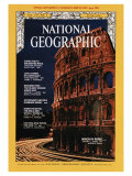 Cover of the June, 1970 Issue of National Geographic Magazine Lámina fotográfica por Winfield Parks