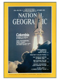Cover of the October, 1981 Issue of National Geographic Magazine Photographic Print by Jon T. Schneeberger