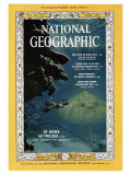 Cover of the April, 1964 Issue of National Geographic Magazine Photographic Print by Robert Goodman
