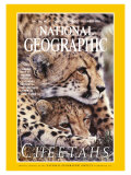 Cover of the December, 1999 Issue of National Geographic Magazine Photographic Print by Chris Johns