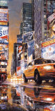 Times Square Perspective II Posters by Matthew Daniels