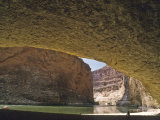 Redwall Cavern on the Shores of the Colorado River Photographic Print by David Edwards
