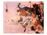 Abstract Image in Pink and Brown Giclee Print by Daniel Root