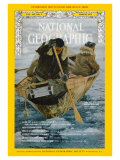 Cover of the March, 1973 Issue of National Geographic Magazine Photographic Print by Emory Kristof
