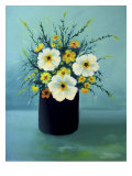 Spring Floral Arrangement Giclee Print by Rich LaPenna