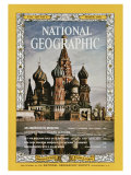 Cover of the March, 1966 Issue of National Geographic Magazine Photographic Print by Dean Conger