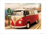 VW: California Camper II Poster