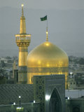 Shrine of Imam Reza, Eighth Shi'Ite Imam, Born in Medina in 765 Ad Photographic Print by Martin Gray