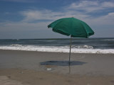 Umbrella Shades the Beach Photographic Print by Stacy Gold