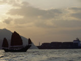 Duk Ling Is the Last Sailing Junk in the South China Sea Photographic Print by Michael S. Yamashita