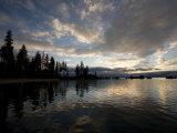 Sunset at Lakeridge, Lake Tahoe, Nevada Fotografie-Druck von Richard Nowitz