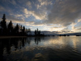 Sunset at Lakeridge, Lake Tahoe, Nevada Photographic Print by Richard Nowitz