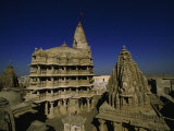 Jagatmandir Temple, Associated with the Life of Krishna Photographic Print by Martin Gray