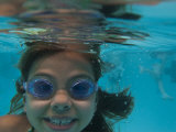 Child Swims Underwater Photographic Print by Stacy Gold