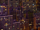 Tightly Packed Apartment Buildings in Shanghai Photographic Print by  xPacifica