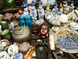 Antiques and Relics for Sale at the Stalls That Line Dongtai Road Photographic Print by  xPacifica