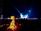 Laser Show at the Annual Lantern Festival Photographic Print by  xPacifica