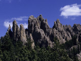 Rugged Peaks of 'The Needles' Reproduction photographique par Paul Damien